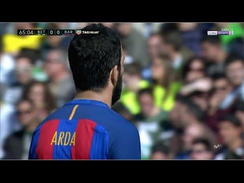 Arda Turan vs Real Betis (Away) (29/01/2017) 720p HD by EC17