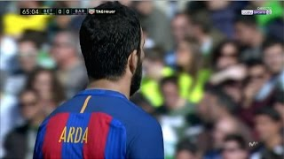 Arda Turan vs Real Betis (Away) (29/01/2017) 720p HD by EC17