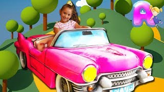 Driving in My Car Kids Song Nursery Rhymes from Funny Anna Kids
