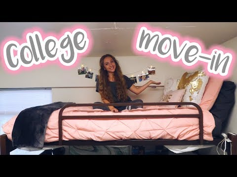 COLLEGE MOVE-IN VLOG! UGA Freshman College Dorm Move-In Day!