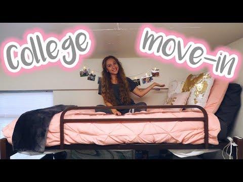 COLLEGE MOVE IN VLOG! UGA Freshman College Dorm Move-In Day!