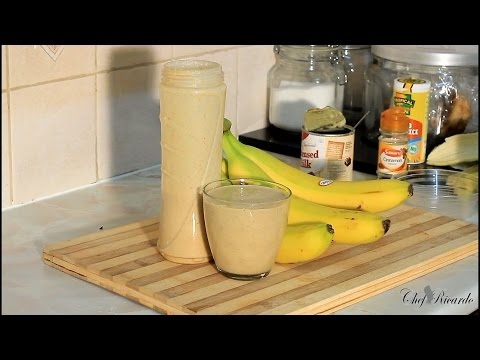 Oats Punch The Best In The World Jamaica Drink Home Make Oats Punch   Recipes By Chef Ricardo