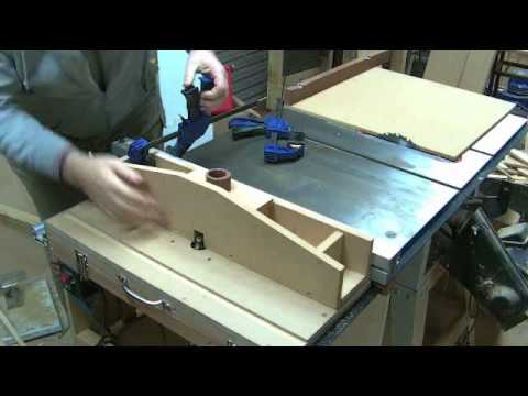 Router Table With Router Lift For Plunge Router How To