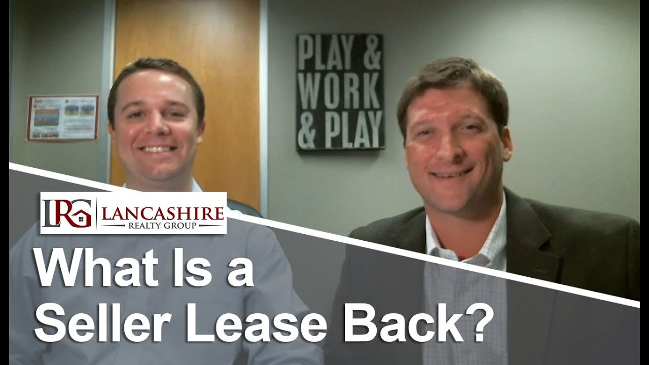 Austin Real Estate: What is a seller lease back?