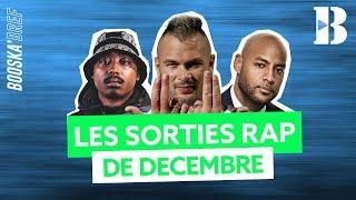 Les sorties d'albums RAP de décembre