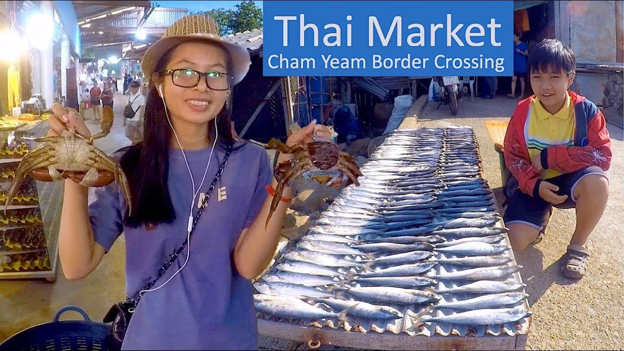 Koh Kong Countdown Trip 04   Breakfast & Visit Thai Market