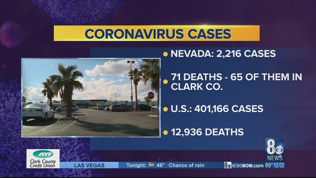 NEW: 11 new COVID-19 deaths reported in Clark County overnight, 71 ...