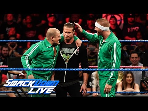 "The Spirit Squad Joins ""Miz TV"" In Possibly Ziggler's Final Appearance: SmackDown LIVE, Oct. 4, 2016"