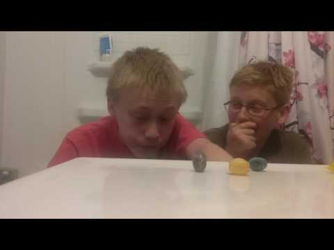 Sour candy challenge with Credentic