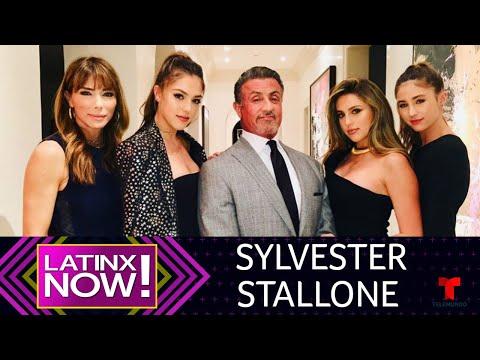 Sylvester Stallone y su familia demostraron ser fanáticos de