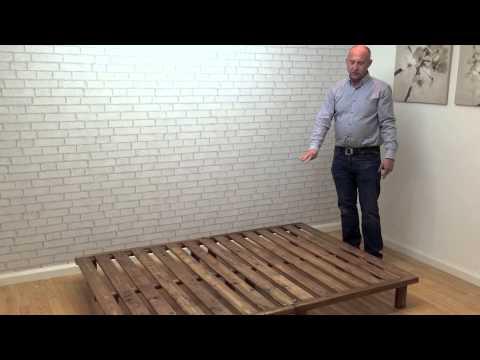 Nepal Low Platform Bed Funky Futon Youtube