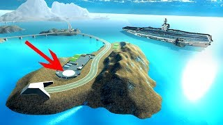 Secret Nuke Silo?! New Archipelago Map with an Amazing Carrier - Ravenfield