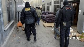 Полицейские  искали нелегальных мигрантов на КОРе