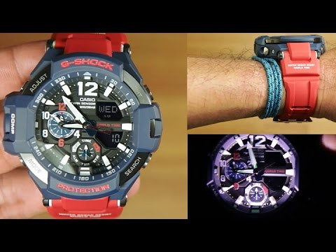 Casio G-shock Gravity Master GA-1100-2A : UNBOXING