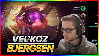 736. Bjergsen vs Froggen - Velkoz vs Anivia Mid - Patch 8.20 - October 23rd, 2018