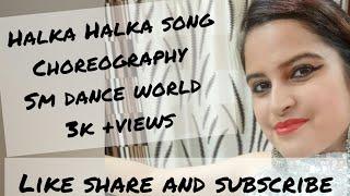 Seema Malhotra dance Choreography on Halka Halka Suroor
