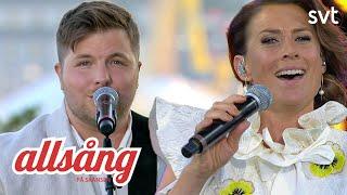Jill Johnson & Robin Stjernberg - Miles Of Blue   Allsång på Skansen 2020 YouTube Videos