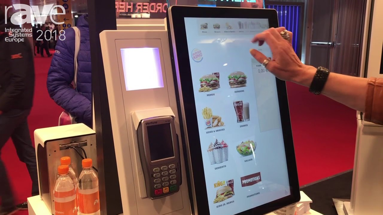 Ise 2018 Acrelec Features Self Ordering Kiosk For Fast
