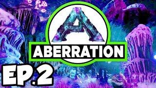 ARK: Aberration Ep.2 - KARKINOS, RAVAGER, ALPHA RAPTOR DINOSAURS ATTACK! (Modded Dinosaurs Gameplay)