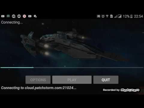 Jogando um pouco Vendetta online (3D  Space mmo)