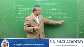 Business Studies -International Business  - By VK- Part 1 /1