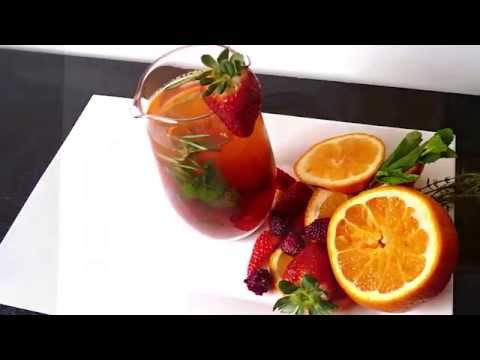 ¡Aprende a preparar Infusiones de Té con tus frutas favoritas de la mano del Chef Fabian Molina!