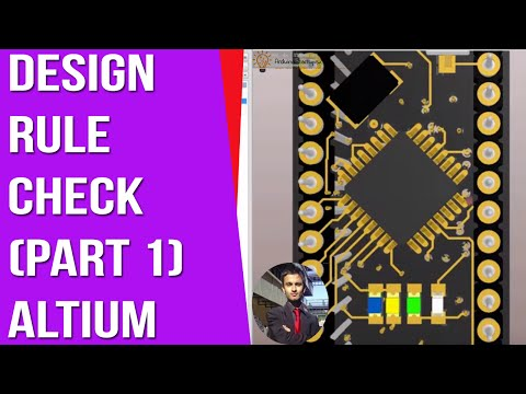 Design Rule Check Altium DRC - Part 1 [ Arduino PCB Design Course ]