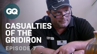 Retired Players Enter Rehab for Addiction-Football Injuries-GQ Casualties of the Gridiron-EP7
