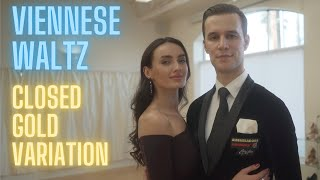 Viennese Waltz Basic Syllabus Closed Gold Variation by Iaroslav and Liliia Bieliei
