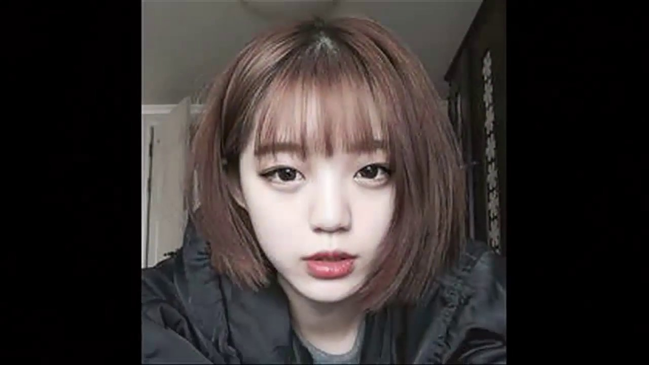 Korean Girl Short Hairstyle  Korean Girls Hairstyles  YouTube