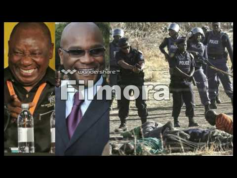''Marikana massacre''by Raymond Majongwe & The Freedom Orchestra