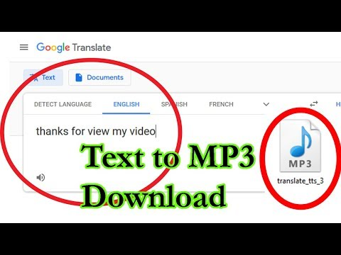 How To Download Google Translate Voice In Mp3
