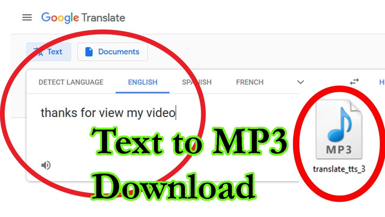 How To Download Google Translate Voice In Mp3 Youtube