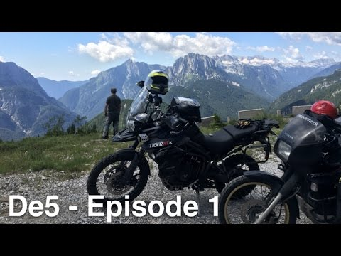 325 | Motorcycle Travel Documentary - De5 - 1/4
