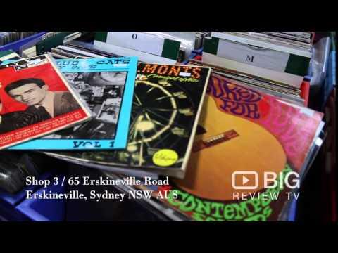 Revolve Records Music Shop in Erskinville Sydney for Vinyl Records