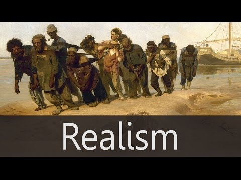 realism in terms of visual art