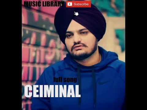 Criminal : Sidhu Mosse Wala   Latest Punjabi Song 2018  Library