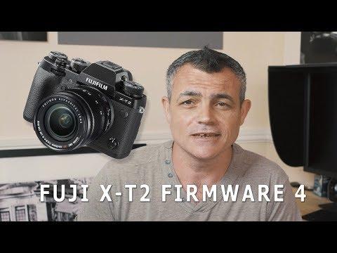 Fuji X-T2 Firmware 4 Update