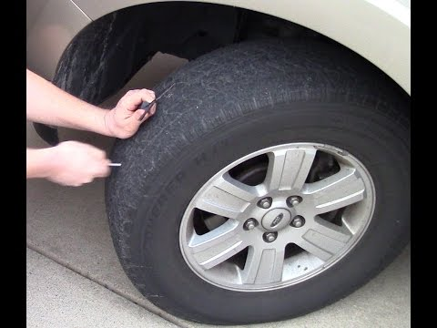 Nail In Tire Repair >> How To Repair A Nail Hole In A Tire