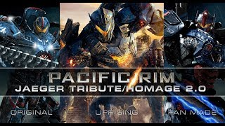 PACIFIC RIM JAEGER TRIBUTE 2.0 with MOVIE & CUSTOM FAN ARTWORK thumbnail