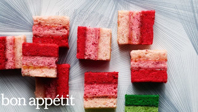 You're Gonna Win this Year's Cookie Swap: Ombré Rainbow Cookies