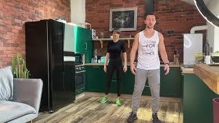 Exercitii usoare de incalzire inainte de antrenamentul de acasa [HD]