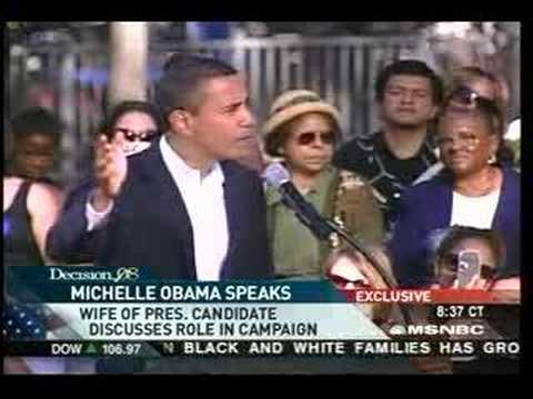 Michelle Obama Interview on MSNBC