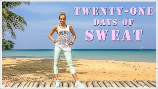 The Perfect Fitness Challenge  Perfect Days of Sweat- Pt 1: Cardio Workout