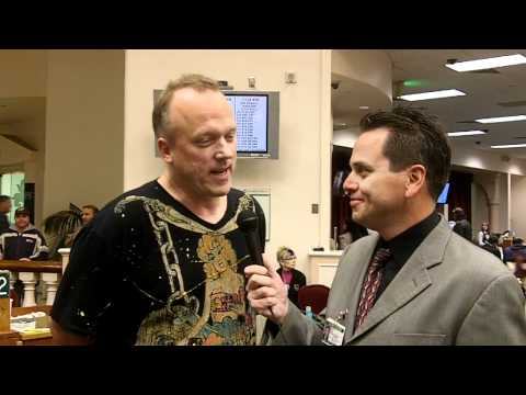 Pat Lyons chip leader interview