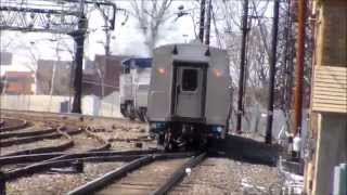 The Pennsylvanian Train 43 with Viewliner Baggage Car 61006