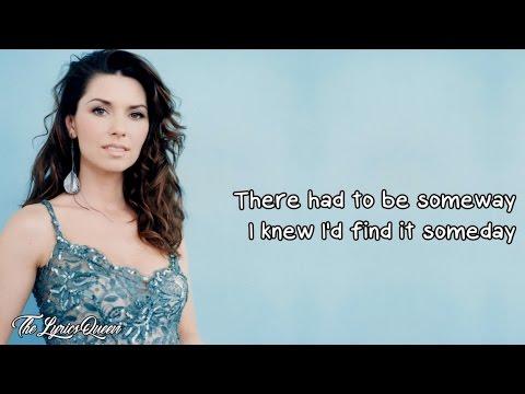 Shania Twain - Thank You Baby! (For Makin' Someday Come So Soon) [Lyrics] HD