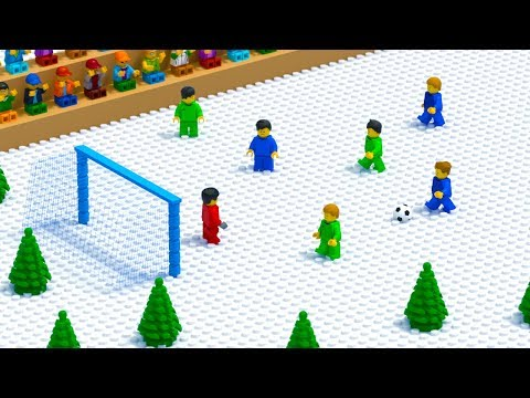 LEGO Football Winter Penalty Fail