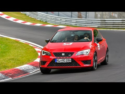 CUPRA ON THE NÜRBURGRING MAKES HER SCREAM!