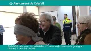 El Calafell més gran: Xerrada prevenció de riscos en la gent gran